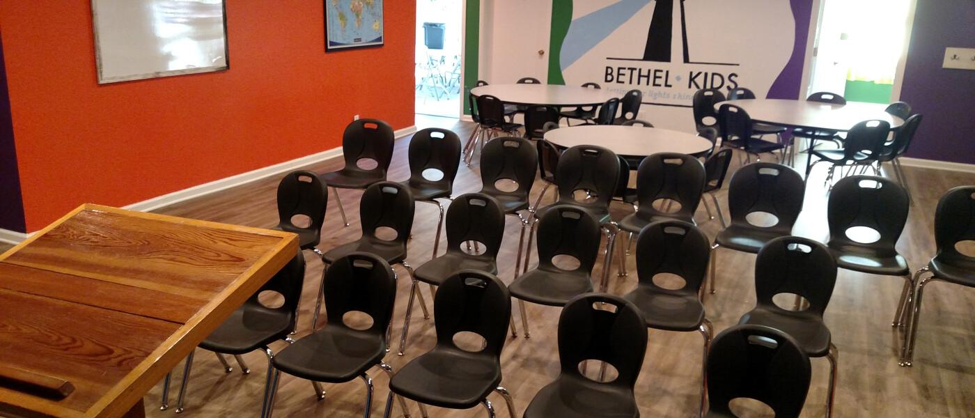 Bethel Kids Classroom
