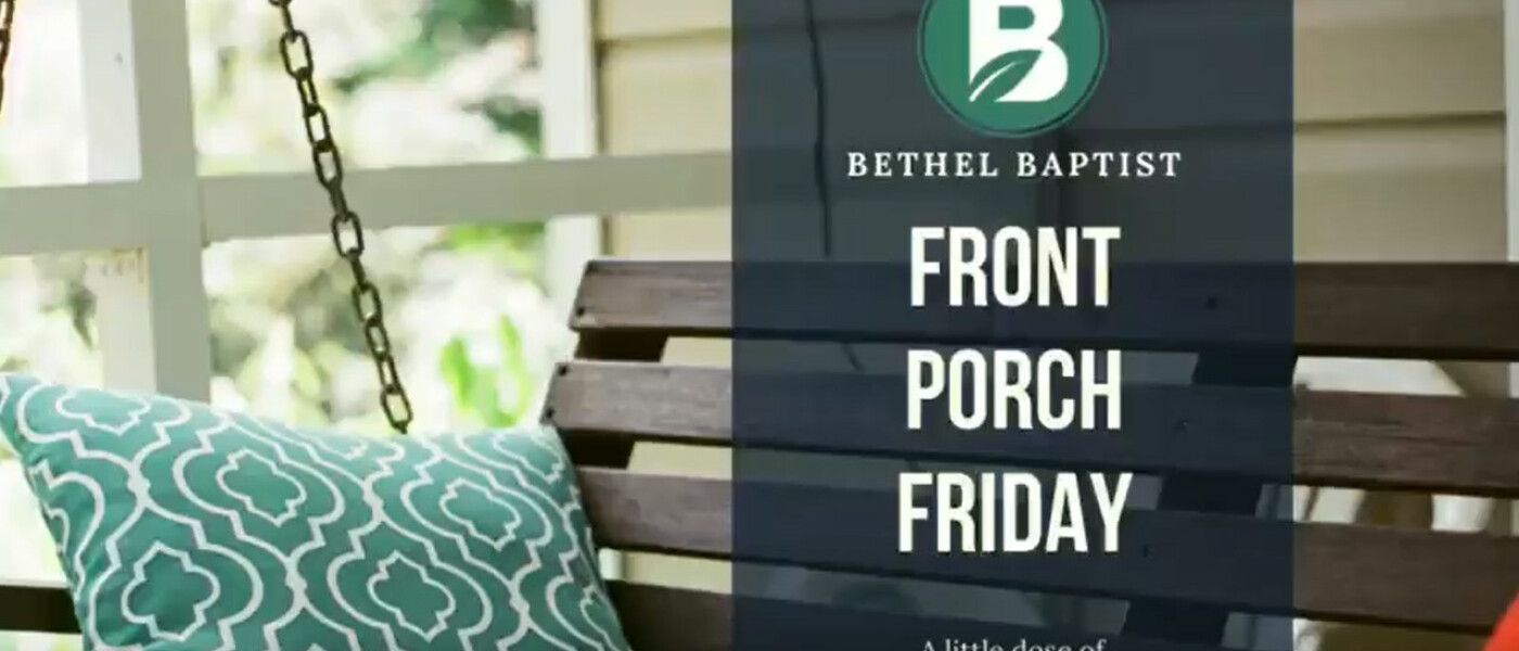 Front Porch Friday