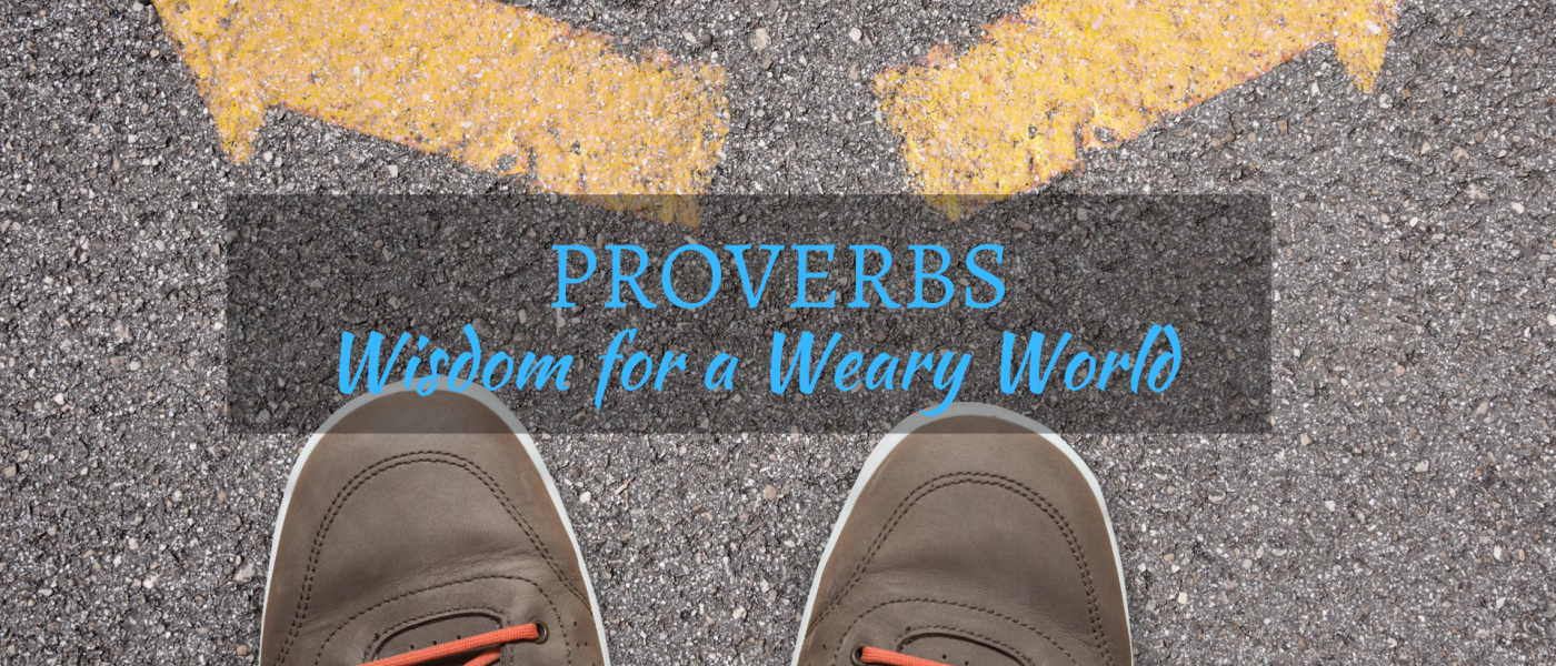 Proverbs - Wisdom for a Weary World