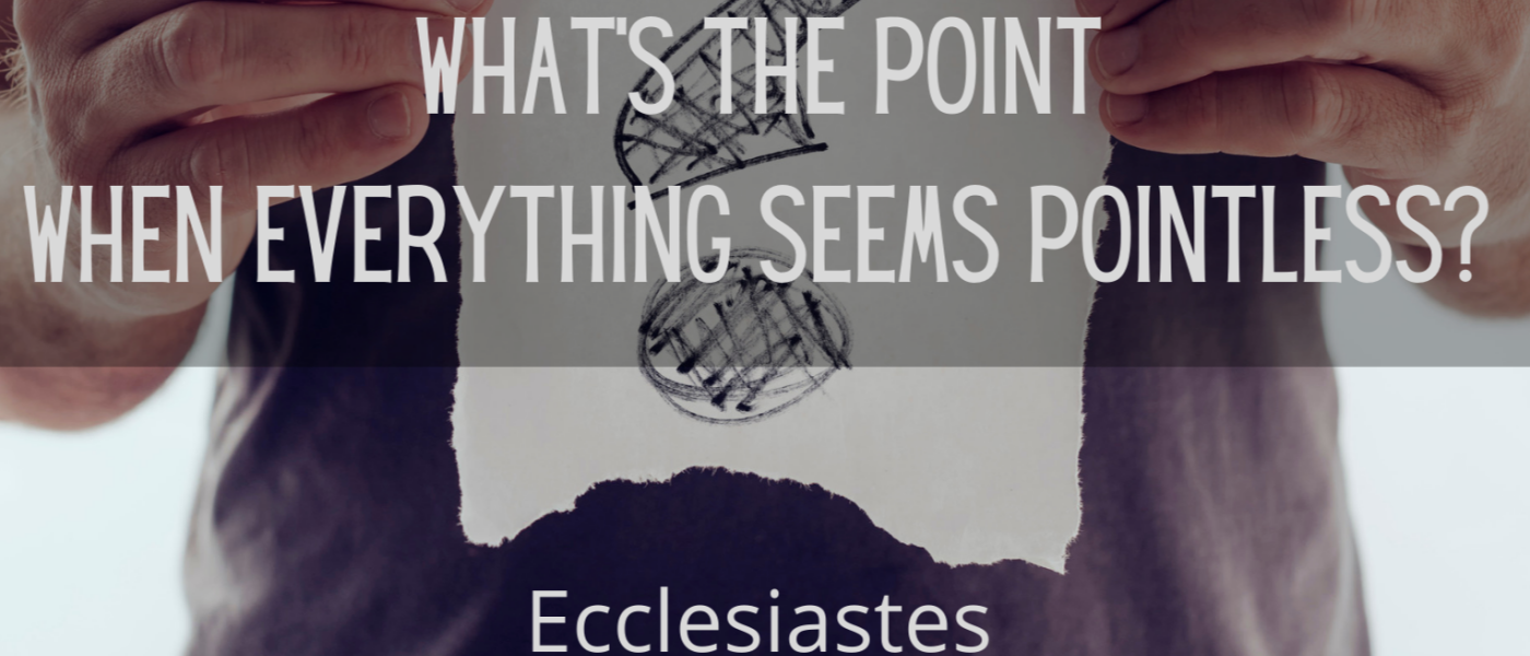 What's The Point When Everything Seems Pointless